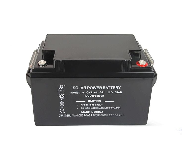 12V65AHPALMA factory direct sell Solar VRLA SMF lead acid GEL UPS battery  Solar street lamps battery